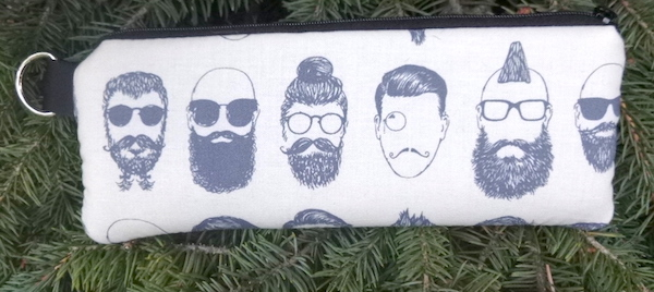 Hipsters Padded Zippered Glasses Case, The Spex