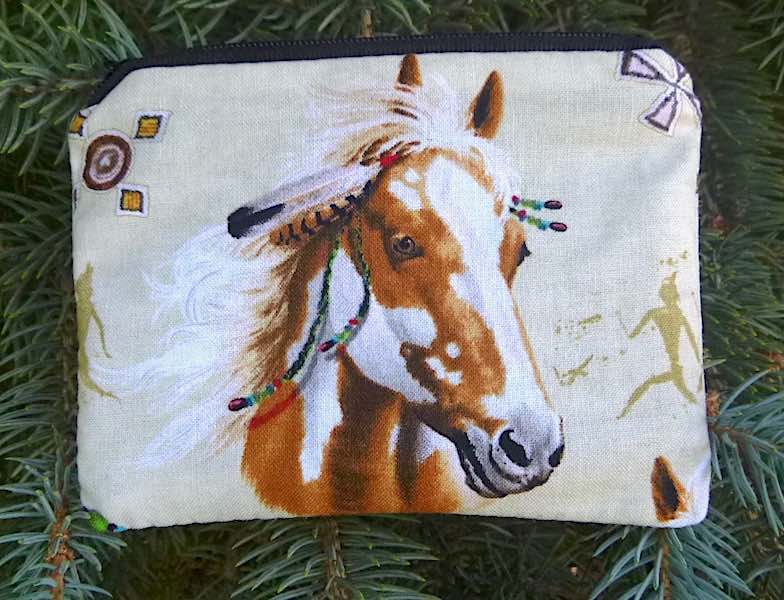 Horse Feathers Coin Purse, The Raven