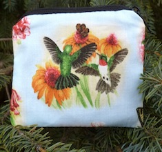 Hummingbird Coin Purse, The Raven