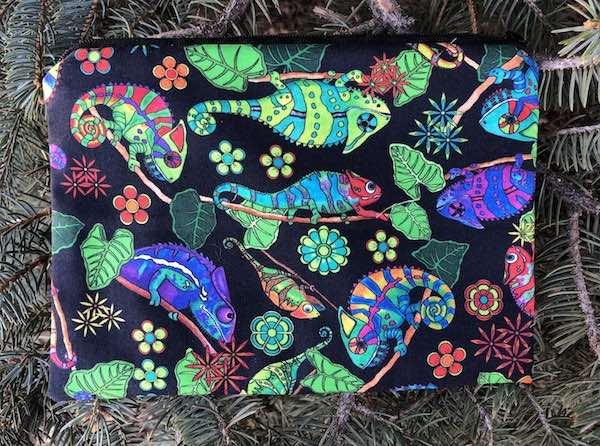 Iguanas zippered bag, The Scooter