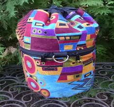Intrigue Kipster Knitting Project Bag