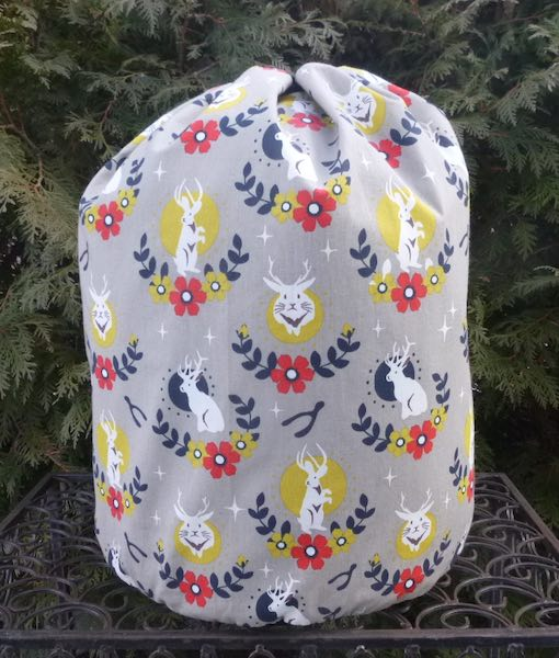 Jackalope Alpaca Large Knitting Bag