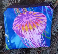 Jellyfish Coin Purse, The Raven