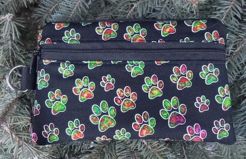 Jewel Paws Mini Wallet Purse Organizer, The Sweet Pea