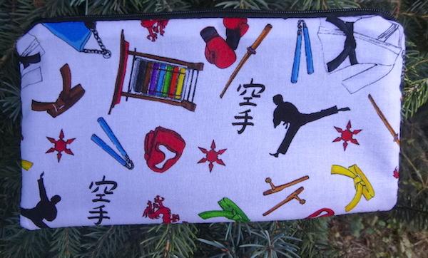 Karate Deep Scribe pen and pencil case