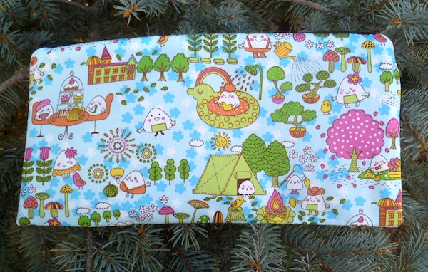 Kawaii Cuteness Zippered pouch for game card decks, The Carder