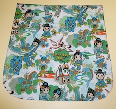 Kawaii world Pick your Size Morphin Messenger Bag Flap