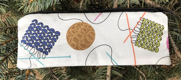 Knitting pen and pencil case, crochet hook pouch, The Scribe
