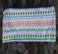 Knitting Project Long Knitting Needle Pouch, The Stitch