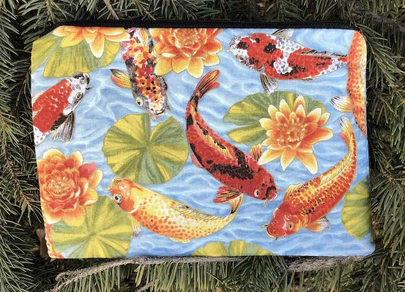Koi Pond zippered bag, The Scooter