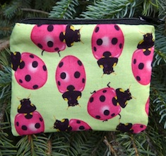 Ladybugs Coin Purse, The Raven