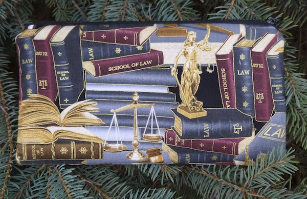 Law Library Deep Scribe pen and pencil case