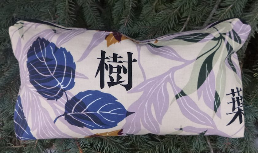 Leaves Large Zini Flat Bottom Bag