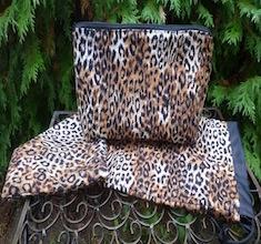Leopard Spots Mah Jongg Storage Set, Racker, Large Zini
