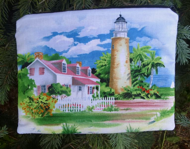 Lighthouses Slide Mahjongg card and coin purse