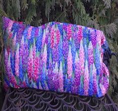 Lupines Drawstring pouch for Mah Jongg Racks, The Racker