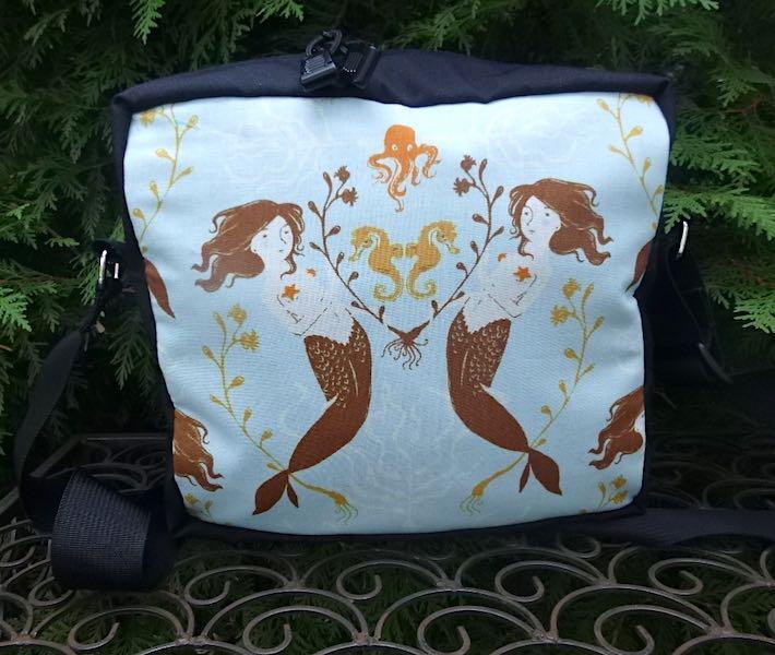 Medocino Mermaids  Shoulder Bag, The Raccoon Deluxe