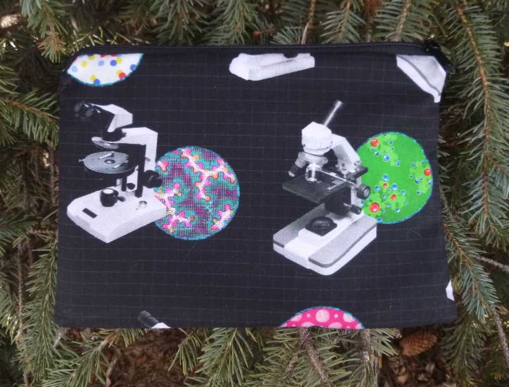 Microscopes zippered bag, The Scooter