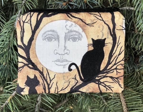 Moon Gazing Coin Purse, The Raven
