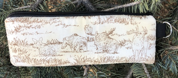 Moose Pond Padded Zippered Glasses Case, The Spex