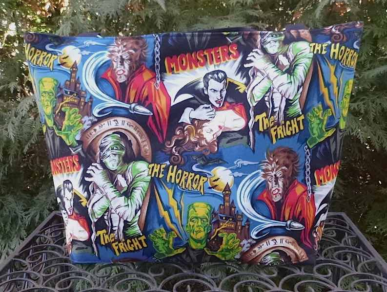 Movie Monsters Large Tallullah, short or long handles or adjustable strap