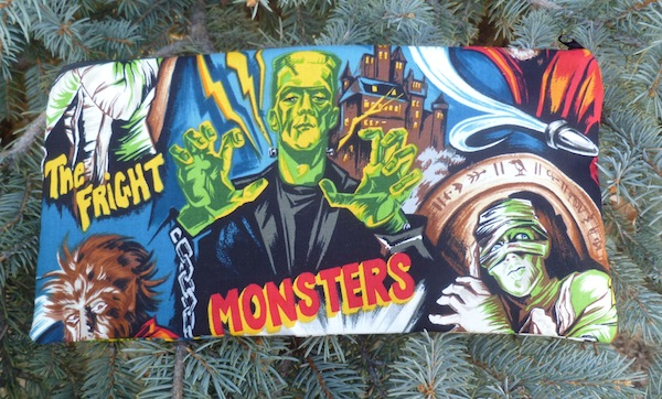 Movie Monsters Zippered pouch for game card decks, The Carder