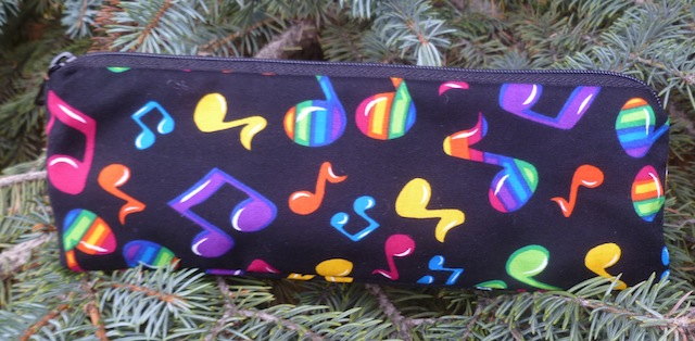 Musical notes pen and pencil case, The Scribe