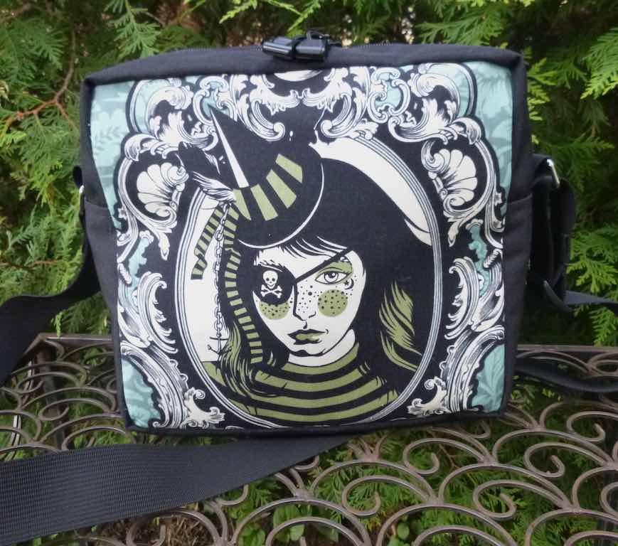 Neptunia Von Black Shoulder Bag, The Raccoon Deluxe