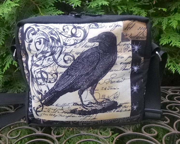 Nevermore a Tribute to Edgar Allan Poe Hipster Bag, The Otter