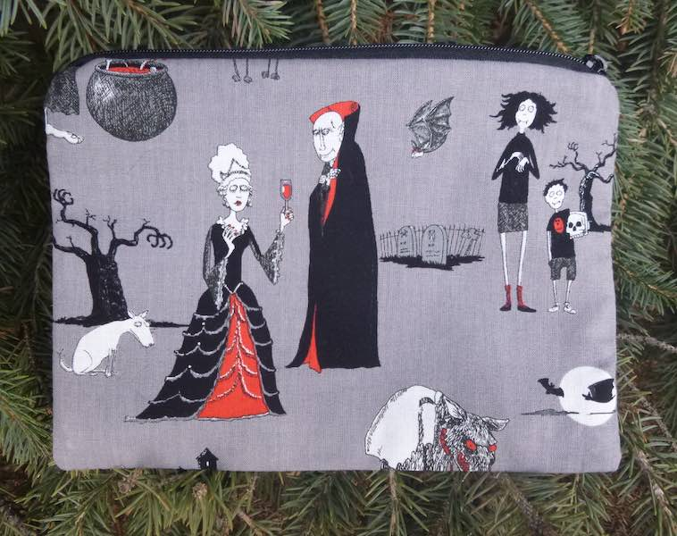 Oddity Family zippered bag, The Scooter