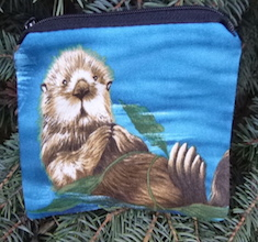 Otters Coin Purse, The Raven