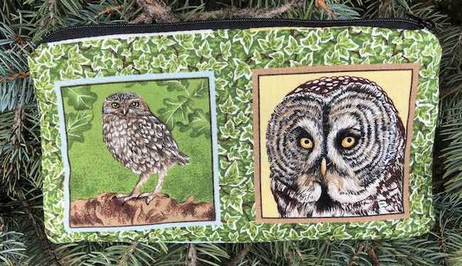 Owl Frames Deep Scribe pen and pencil case
