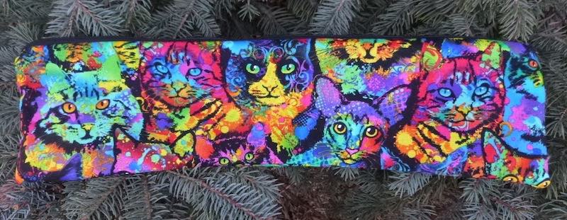 Painted Cats Long Knitting Needle Pouch, The Stitch