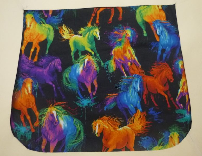Painted Horses Pick your Size Morphin Messenger Bag Flap