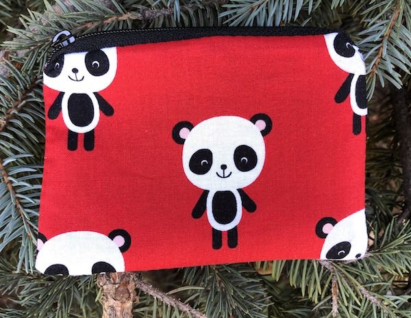 Adorable Pandas Coin Purse, The Raven