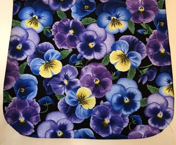Pansy Perfection Pick your Size Morphin Messenger Bag Flap