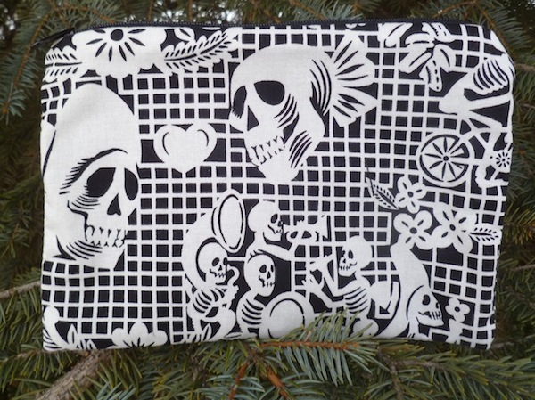 Papel Picado Scooter Zippered Bag -CLEARANCE