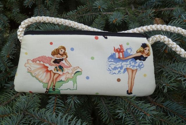 Party Girls evening bag clutch wristlet shoulder bag, Bebe-CLEARANCE