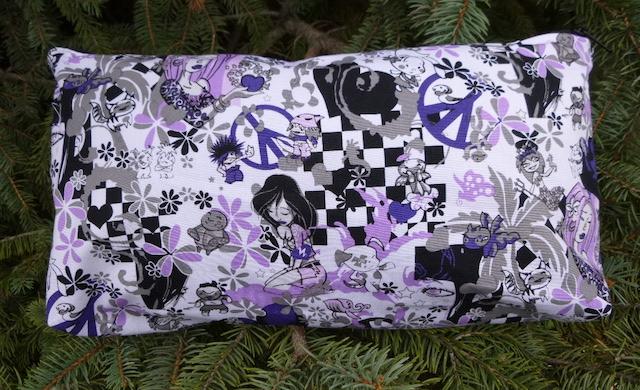 Peace Love and Kawaii Large Zini Flat Bottom Bag