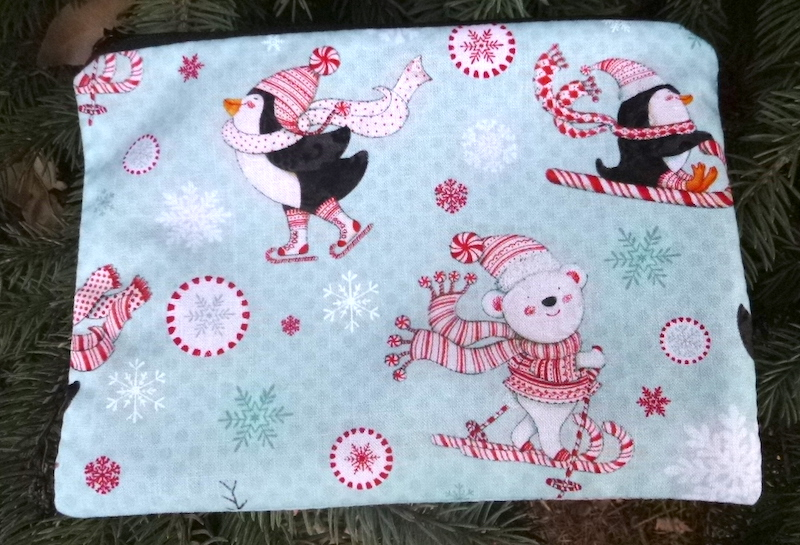 Peppermint Pals zippered bag, The Scooter
