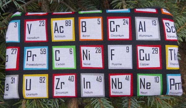 Periodic Table Deep Scribe pen and pencil case