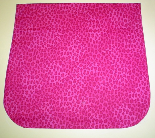 Fuschia Leopard Spots Pick your Size Morphin Messenger Bag Flap