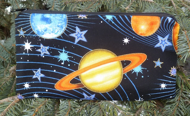 Planets Deep Scribe pen and pencil case
