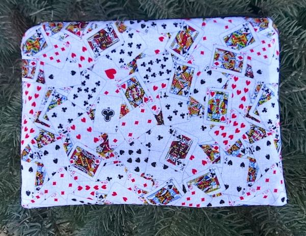 Playing Cards zippered bag, The Scooter
