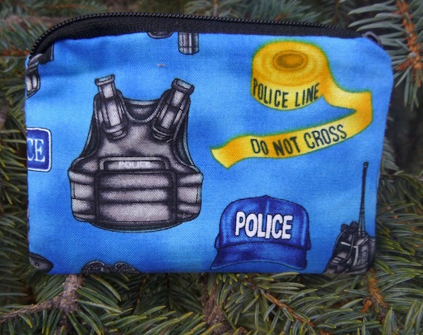 Police Equipment Coin Purse, The Raven, Pick Your Color