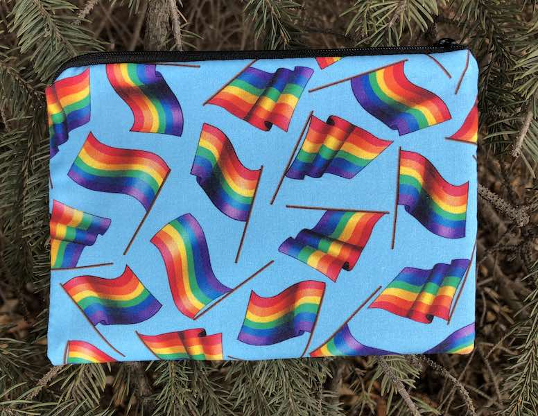 Pride Flags zippered bag, The Scooter