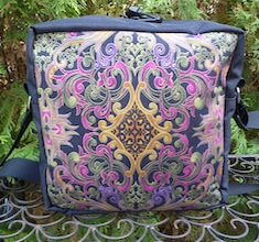Elegant Scroll Shoulder Bag, The Raccoon Deluxe