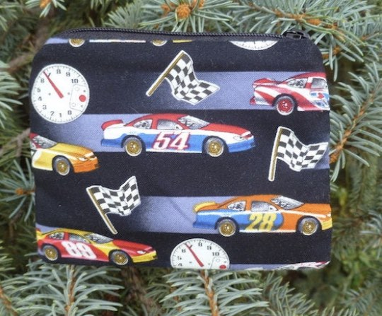 Race Cars Coin Purse, The Raven