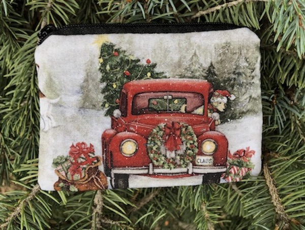 Red Truck Christmas Coin Purse, The Raven