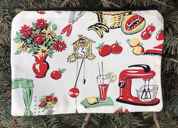 Retro Kitchen zippered bag, The Scooter